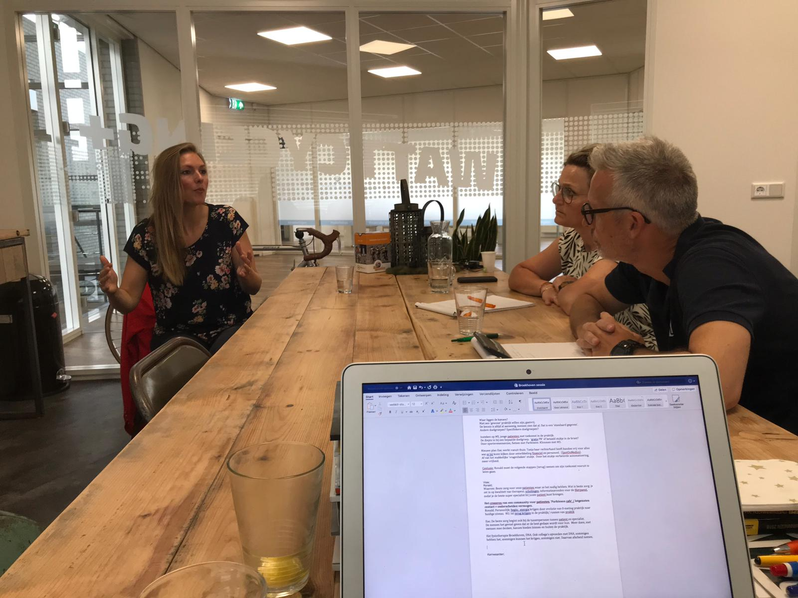 strategische marketingsessie fysiotherapie